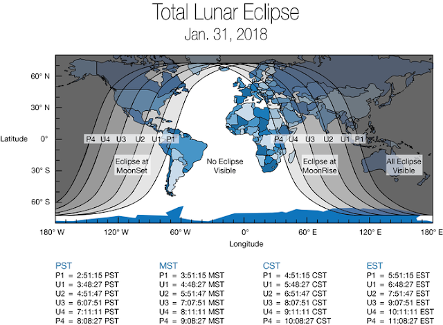 Wednesday's Rare Super Blue Blood Moon: How To See It And What We Can Learn