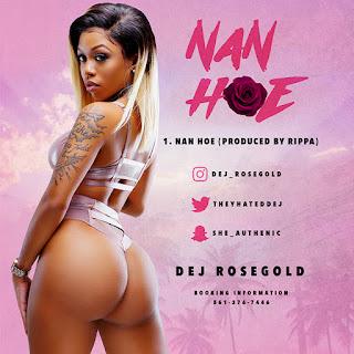 New Music Alert, Dej RoseGold, Nan Hoe, theyhatedej, New Single, New Hip Hop Music, Hip Hop Everything, Team Bigga Rankin, Promo Vatican,