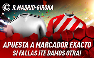 sportium Promo Real Madrid vs Girona 24 enero