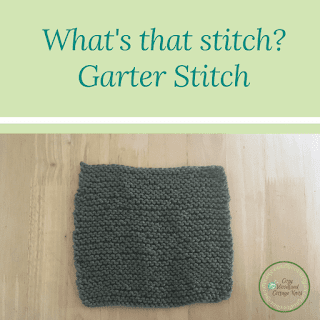 Picture of whats that stitch garter stitch