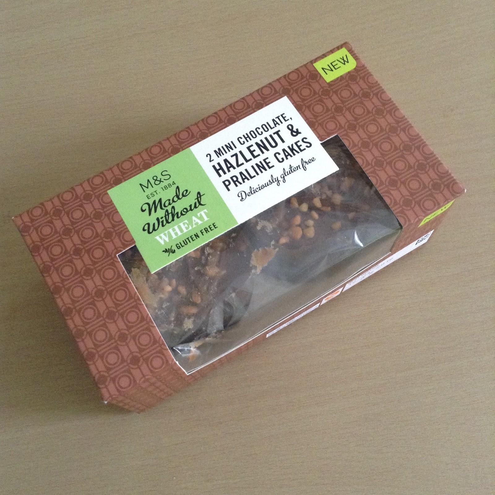 Marks Spencer Gluten Free Hazelnut Praline Cakes