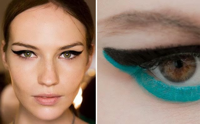 Tendance eye liner yeux chat