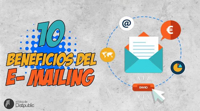 10 beneficios del e-mailing