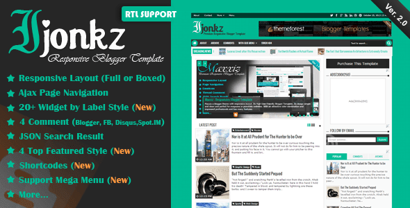 Download Ijonkz Responsive Blogger Templates Gratis Download Ijonkz Responsive Blogger Templates Gratis