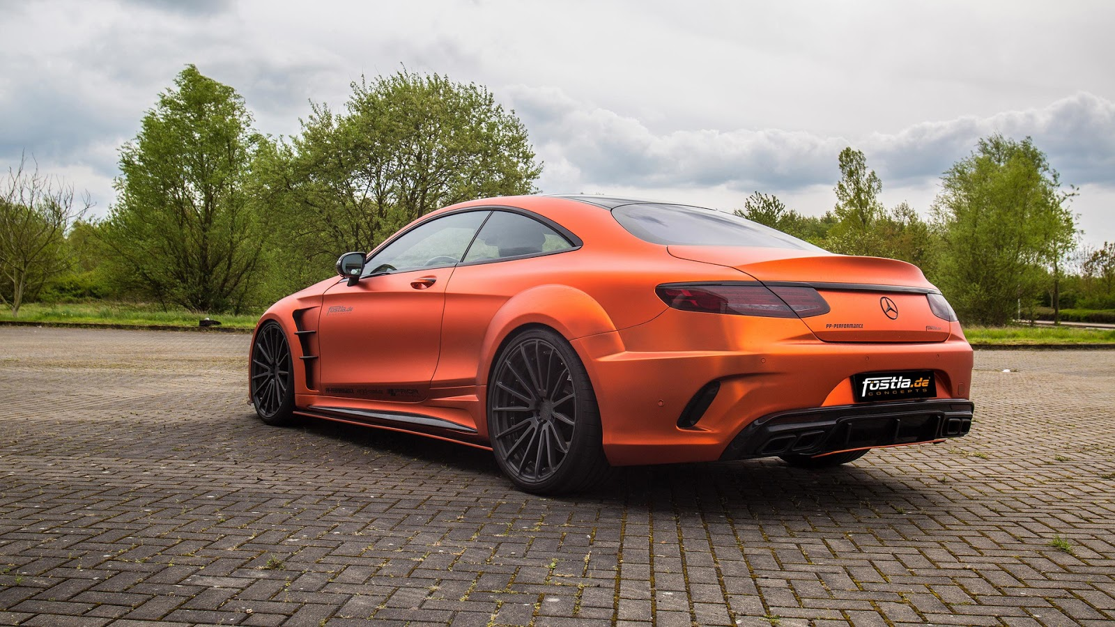 Fostla goes all out with prior design mercedes amg s63 for Mercedes benz s63 amg biturbo