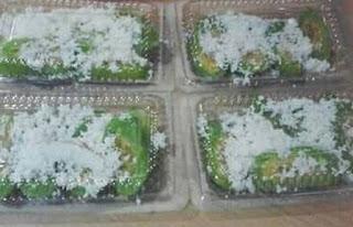 Kue Basah Cenil Singkong