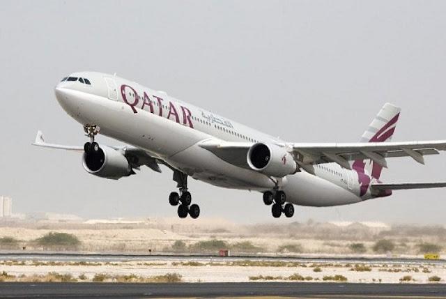 Pesawat Qatar Tujuan Indonesia Mendarat Darurat di India