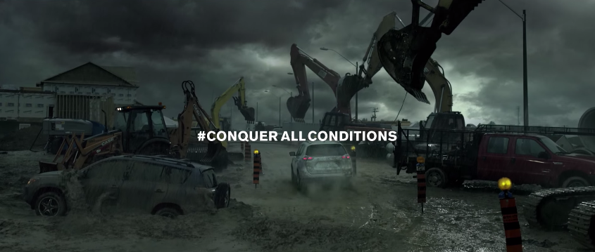 Nissan Canada's Monstrous Muddy Roads Commercial for the 2015 Rogue via Toronto's TBWA