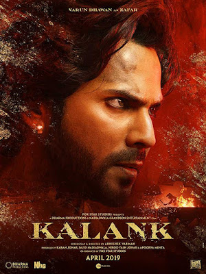 Poster Kalank 2019 Hindi HD 720p