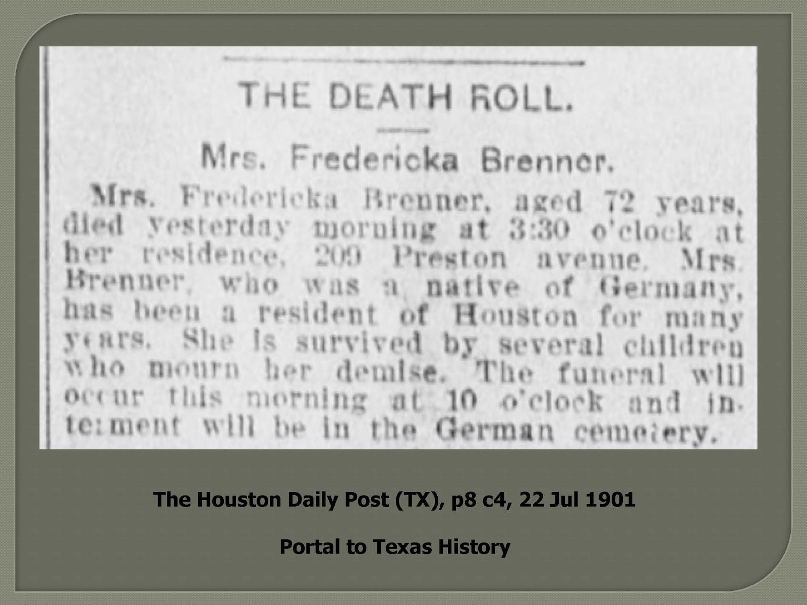 Ancestorpuzzles september 2017 it is helpful to include the page and column number in a newspaper citation unfortunately this obituary record does not reveal the names of the several aiddatafo Image collections