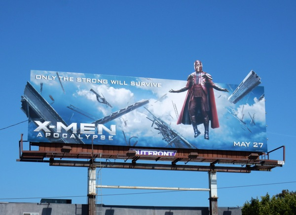 X-Men Apocalypse Magneto billboard