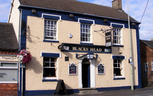 The Blacks Head pub in Tean