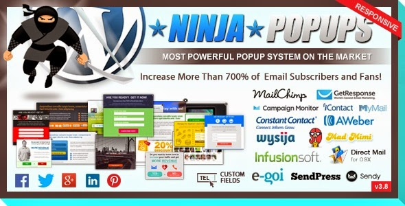 Ninja Popups - WordPress Plugin