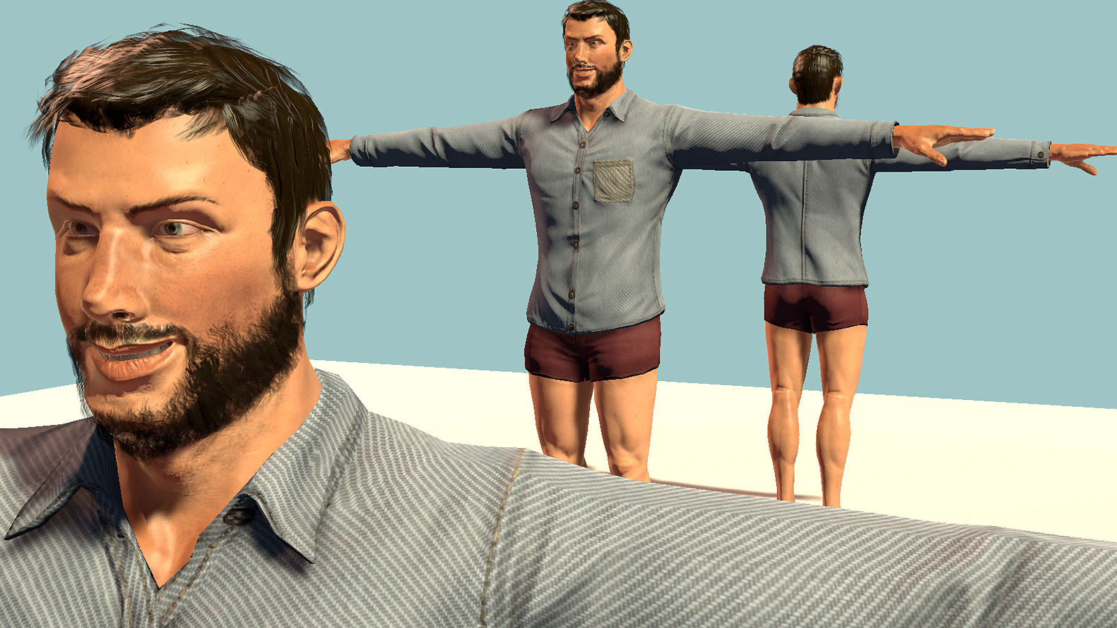 radiator blog psa free and complete photorealistic 3d character