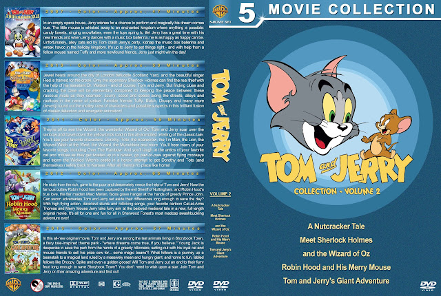 Tom and Jerry Collection - Volume 2 DVD Cover