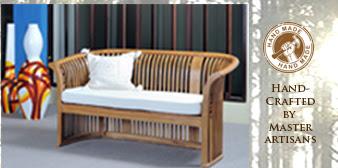 I N D I V I D U A L L Y H A N D C R A F T E D. Linden Teak Furniture ...