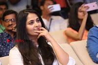 Actress Anushka Shetty New Pos in White Dress at World Of Baahubali Launch  0018.JPG