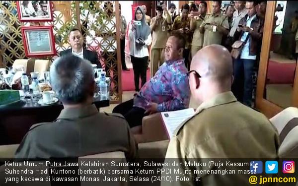 Perangkat Desa Anggap Jokowi Ingkar Janji