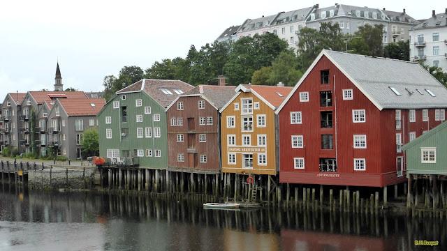 Huizen op Palen in Noorwegen
