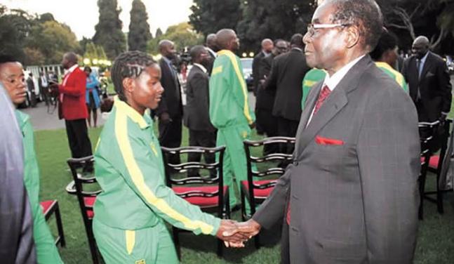 mugabe arrest olympic team