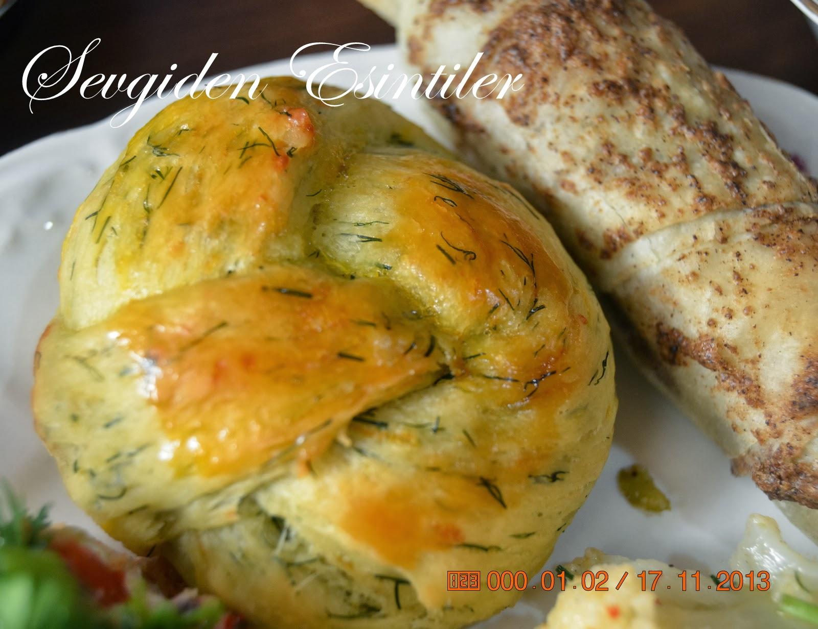 Dereotlu Peynirli Poğaça Videosu