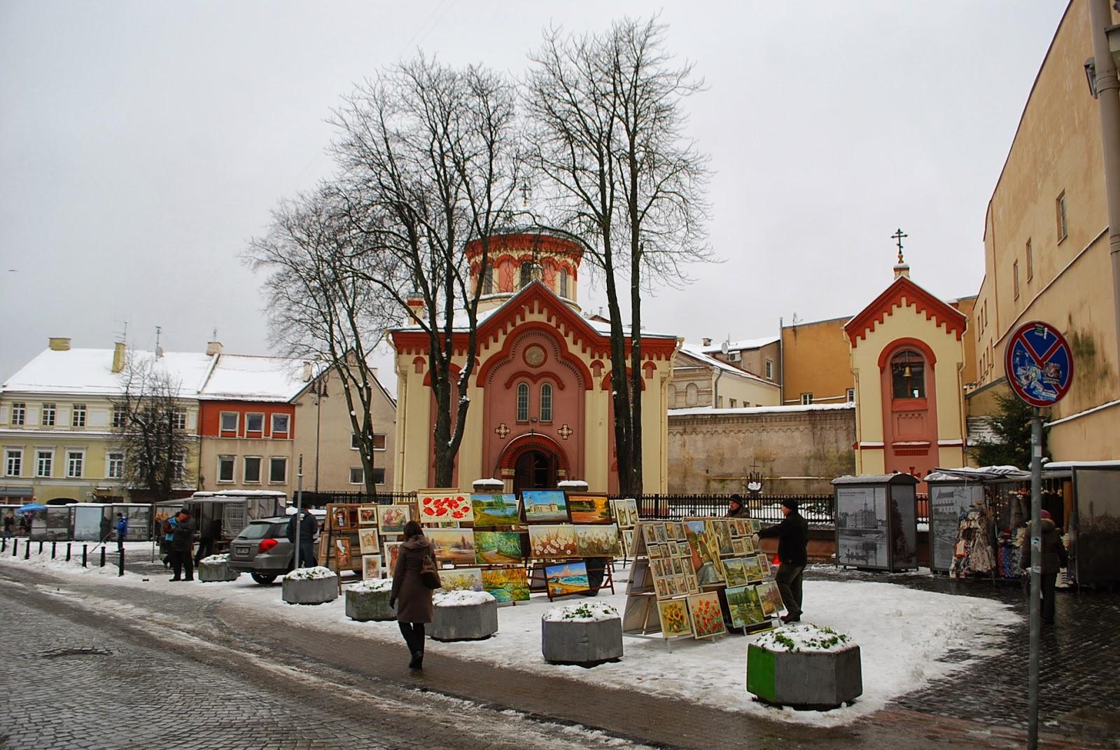 Пятницкая церковь (Храм во имя св. мученицы Параскевы Пятницкой), Вильнюс.