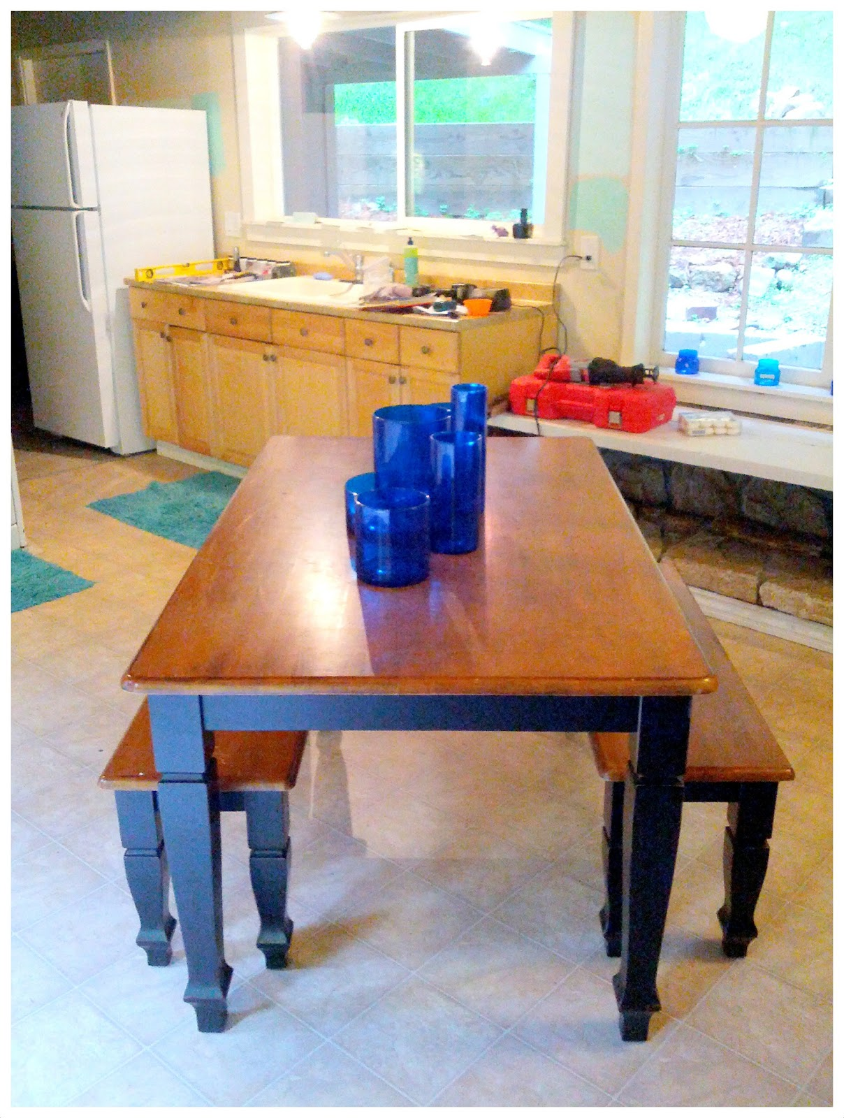 DIY Paint Kitchen Table