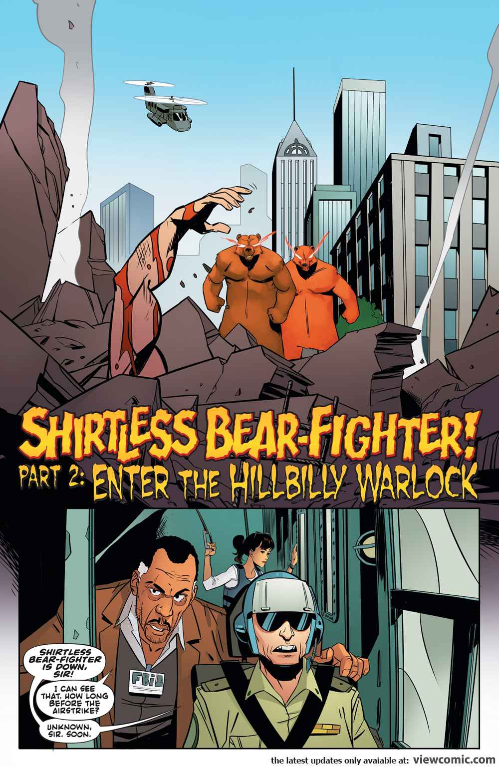 Shirtless Bear-Fighter! 002 (2017)  | Vietcomic.net reading comics online for free