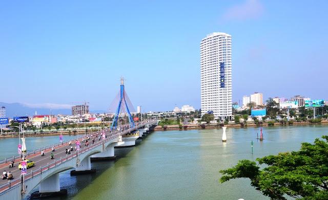 Vị trí dự án Land Mark gần cầu sông Hàn