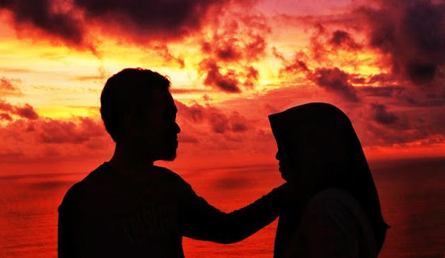 Sunset dari Bukit Paralayang Watugupit