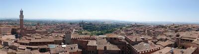 Vistas desde la terraza del Museo dell'Opera Metropolitana del Duomo.