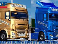 Mod Truck Daf XF Euro 6 Edit BurakTuna24 ETS2