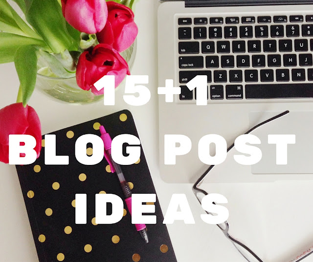 16 blog post ideas you can write now