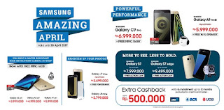 Samsung Amazing April Promo di Erafone