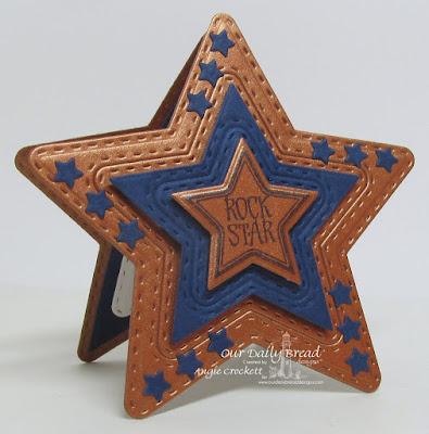 ODBD Superstar, ODBD Custom Double Stitched Stars Dies, ODBD Custom Sparkling Stars Dies, Card Designer Angie Crockett