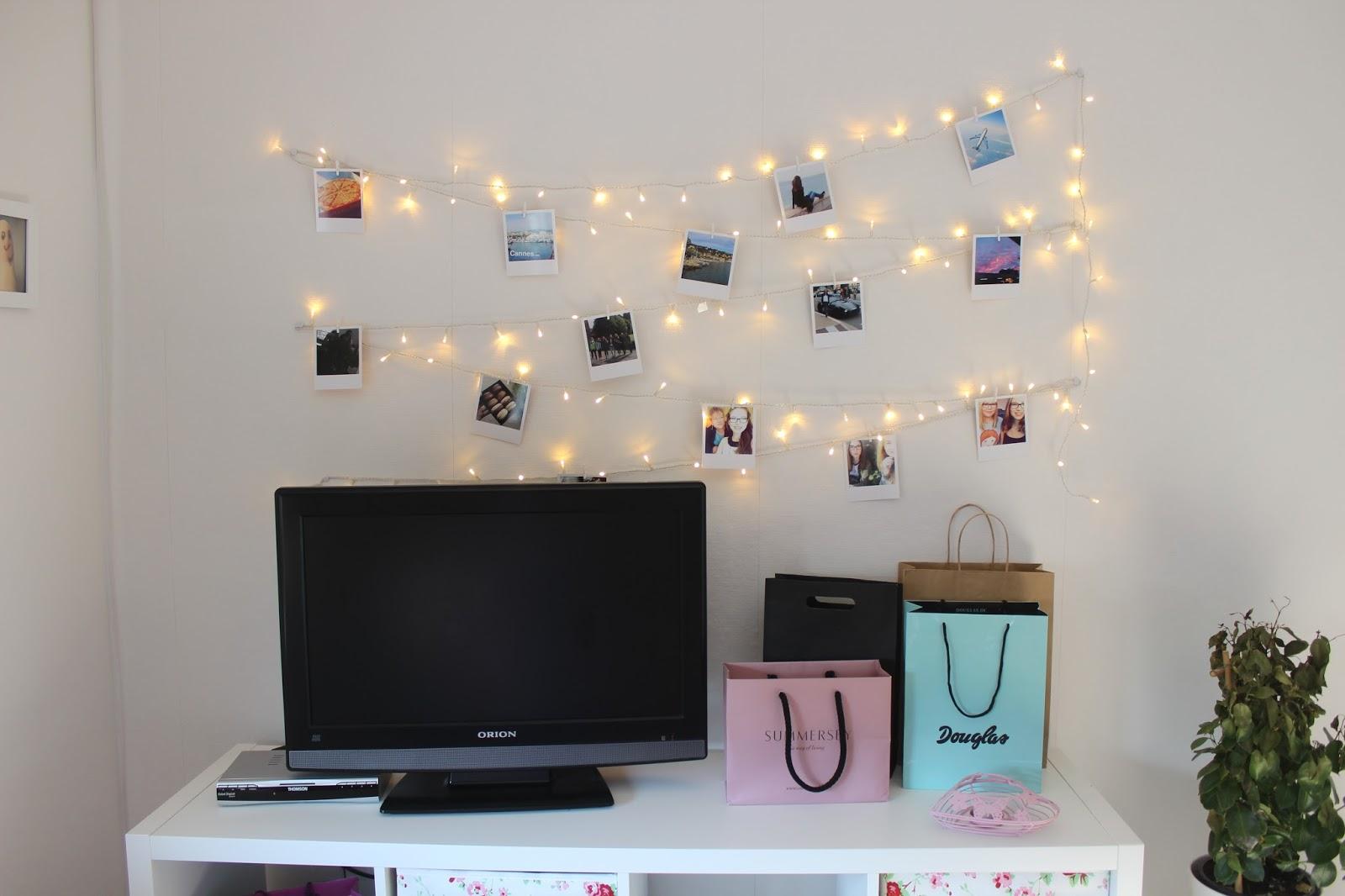La vie et moi memories framed in polaroid inspiration for Polaroid lichterkette