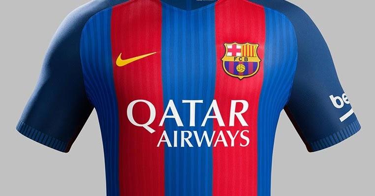 Fc barcelona and qatar airways announce shirt sponsorship for Oficina qatar airways madrid