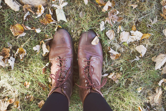 The Flying Clubhouse: November Gold #boots