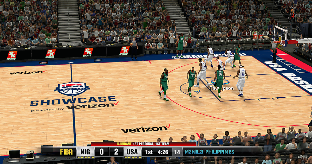 Manni Live│2K Patches: 2016 USA Olympic Showcase Court