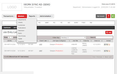 Ad agency software - iWorksync Ad