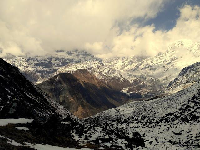 View from the Dzongri Pass
