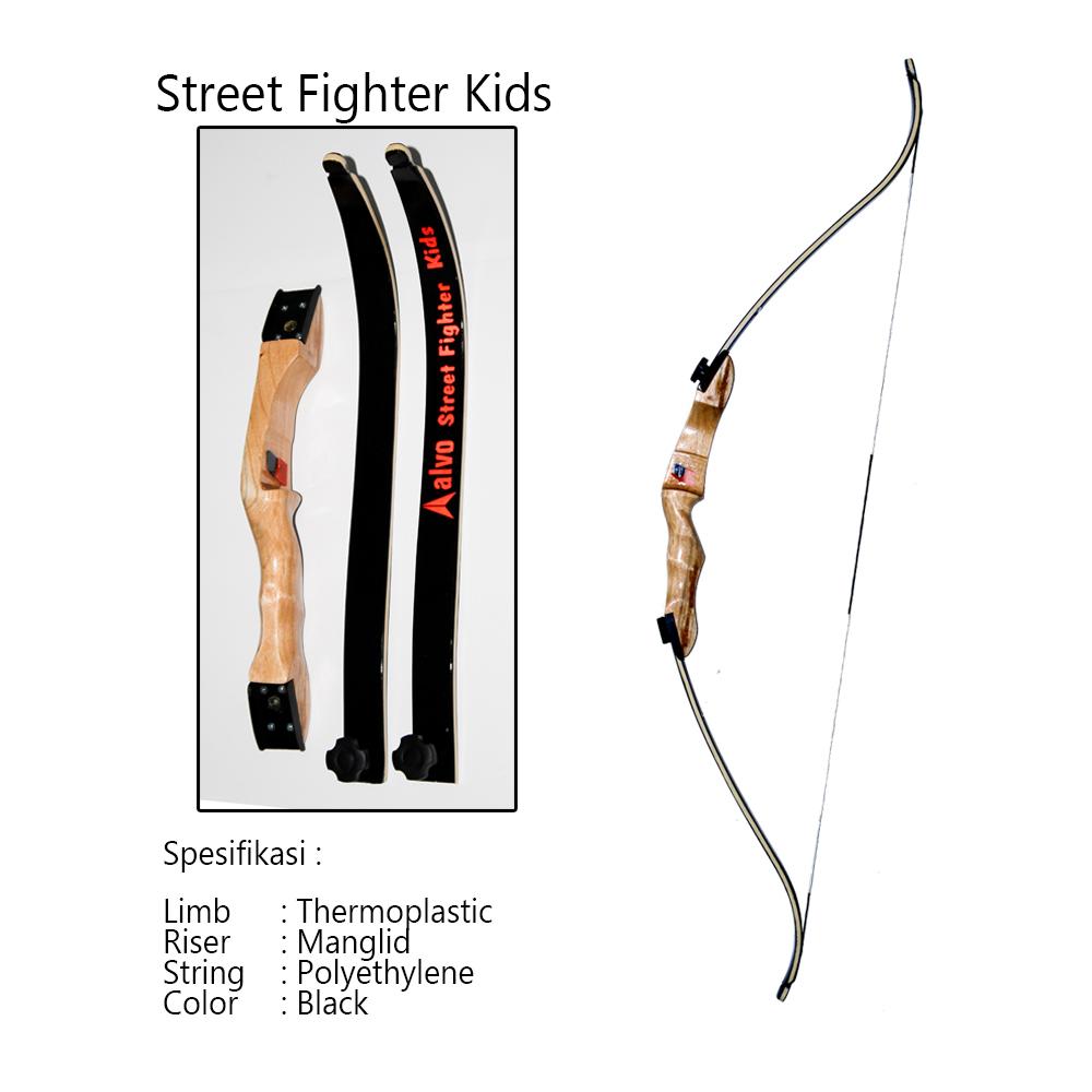 Produsen Alat Panah Jual Busur Untuk Anak Mainan Panahan Street Fighter Kids Merupakan Yang Dirancang Khusus Dengan Draw Weight 15 Lbh Disesuaikan Kekuatan