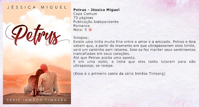 PETRUS - Irmão Timberg #01 - Jéssica Miguel