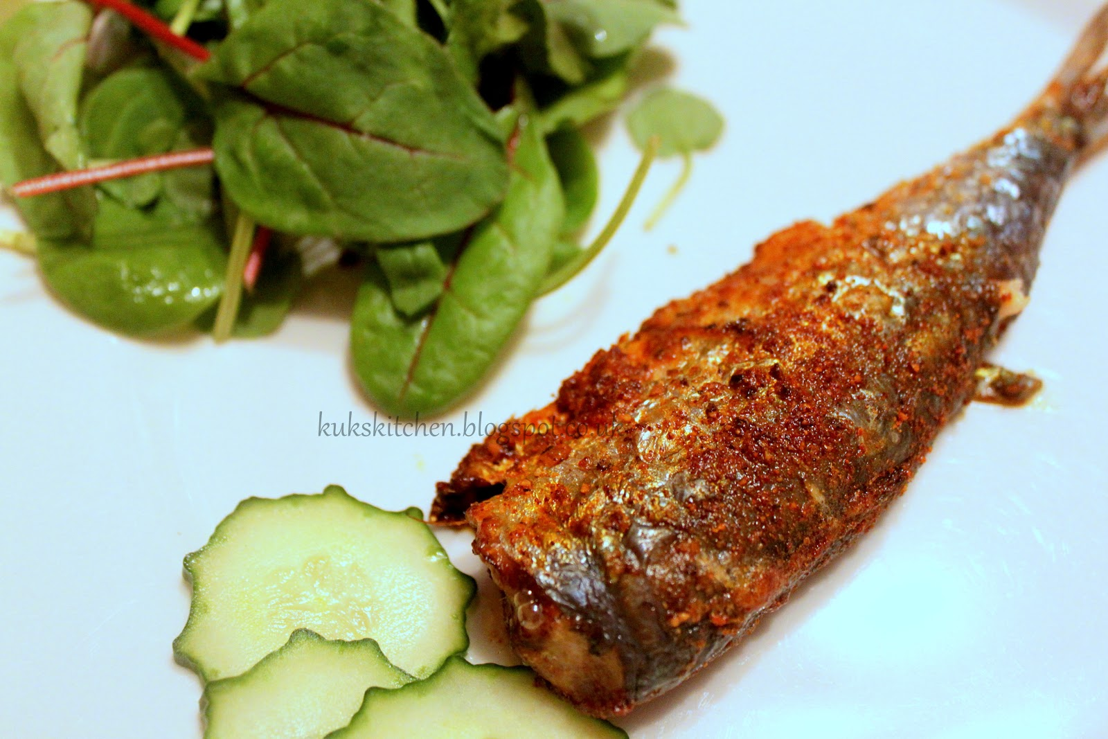 Baked Fish Recipe Indian