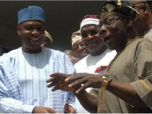 Saraki Holds Serious Meeting With Obasanjo