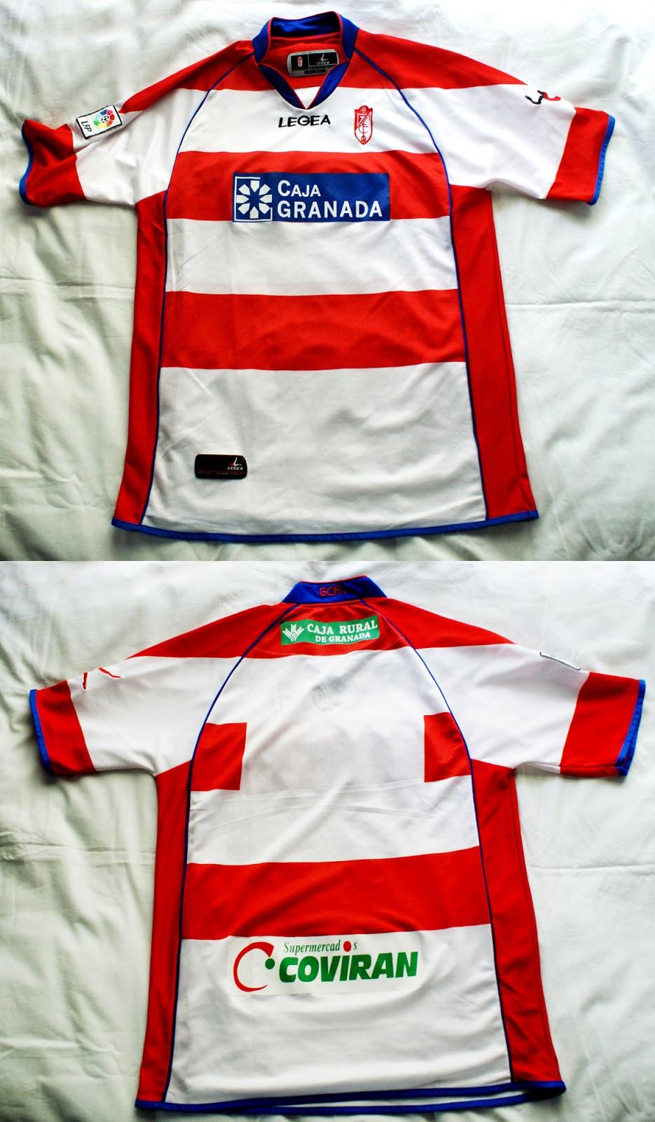 1º Camiseta Granada 2011 2012 d8f819a511a18