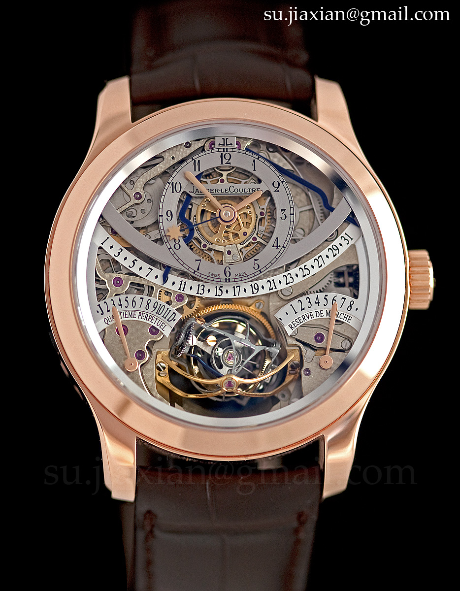 watches by sjx hands on with the jaeger lecoultre gyrotourbillon i in rose gold with live photos. Black Bedroom Furniture Sets. Home Design Ideas