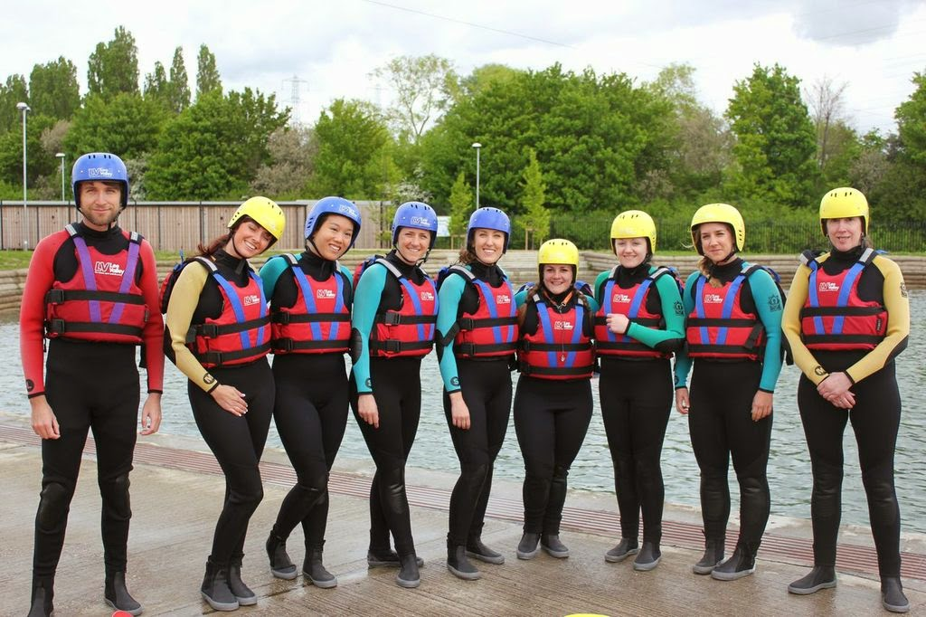 Kayaking at Lee Valley White Water Centre
