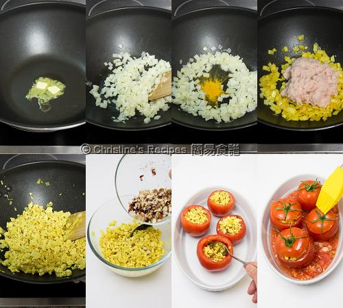 How To Make Stuffed Tomatoes with Chicken02