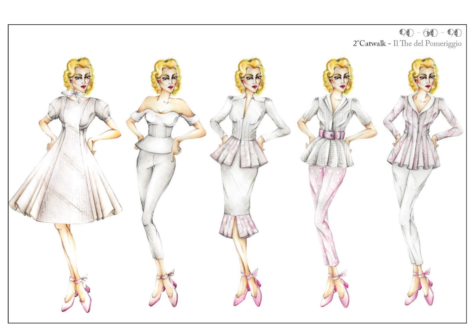 Estremamente Valentina Poltronieri Fashion Blog: DISEGNI DI MODA BV19